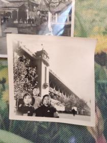 文革老照片 背后毛泽东像8张合售
