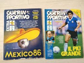 意大利原版,1986世界杯两本、马拉多纳的世界杯