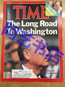 """【现货】时代周刊杂志 Time Magazine, 1987年,封面 """" 苏联的 戈尔巴乔夫"""",珍贵史料。"""