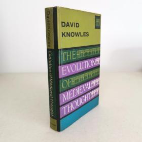1962年初版 The Evolution Of Medieval Thought 中世纪思想发展史