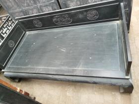 古董古玩木器老家具清代紫檀罗汉床
