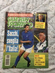 原版足球杂志 意大利体育战报1994年22期  含94世界杯意大利22人参赛名单等内容