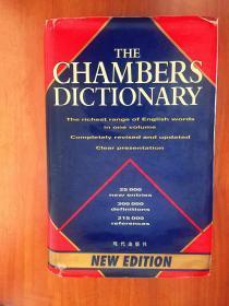 THE CHAMBERS DICTIONARY 钱伯斯英语词典