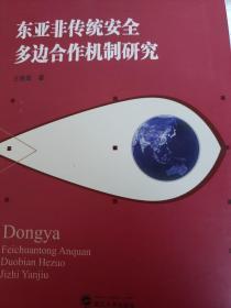 东亚非传统安全多边合作机制研究