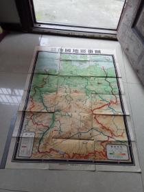 德国地形挂图