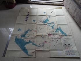 屏峰手绘地图一张
