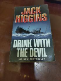 Drink with the Devil 与魔鬼共饮 杰克·希金斯英文原版惊险小说