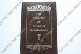 【现货包邮】《威廉·莎士比亚的十四行诗》The sonnets of William Shakespeare