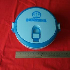 经典卡通饭盒儿童学生饭盒0.7L蓝色饭盒新饭盒收藏