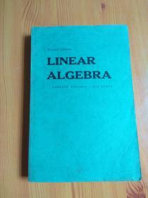 LINEAR ALGEBRA线性代数(英文版)