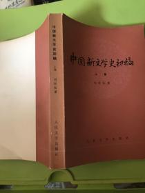 中国新文学史初稿上