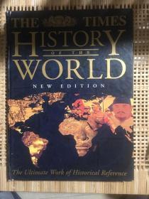 《泰晤士世界历史地图集》The Times Atlas of World History 新版,超大开本,现货