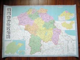 2012年版蓬莱地图蓬莱行政区划地图乡镇分布图
