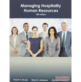Stock Image Managing Hospitality Human Resources