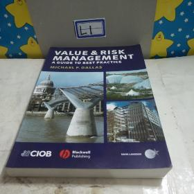 Value and Risk Management: A Guide to Best Practice