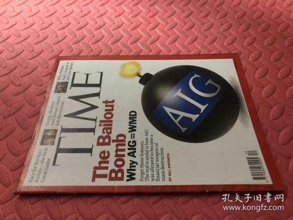 Time March 30,2009(品相如图)(英文原版,美国时代周刊) 最佳英语阅好英语学习资料 /英文原版杂志