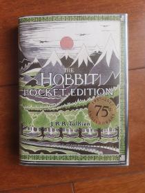 [绝版现货]The Hobbit:75th Anniversary Pocket Edition(霍比特人: 75周年纪念口袋版)[英国2011一版一印]