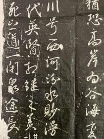 唐任忠墓志拓片,全称故散官陪戎付尉西河任君墓志并序,志石长宽55.55厘米,石刻于宝应元年,保真包原拓。