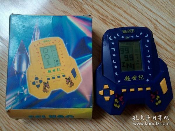 老游戏机 国产超世纪游戏掌机  里面小游戏多