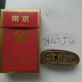 早期,外文刻铜印章。长5.8㎝,宽2.5㎝,厚约1.3㎝。品相完好,包浆老道。〈外文刻制漂亮,卖家不识,请自鉴〉