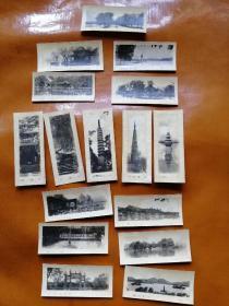 早期杭州老照片(16张合售)