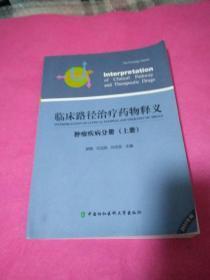 临床路径治疗药物释义 肿瘤疾病分册(上册)(2015年版)