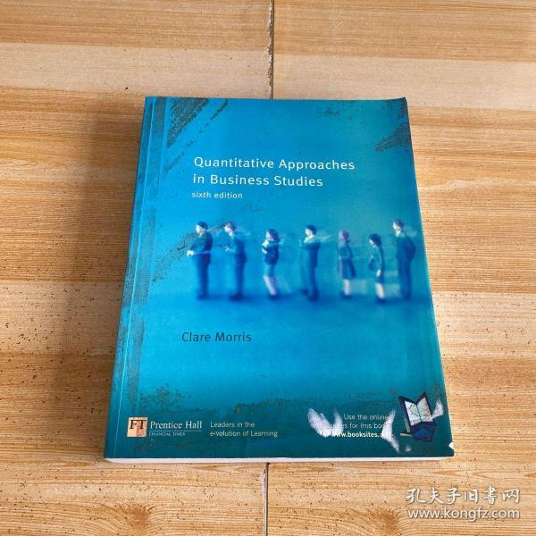 Quantitative Approaches in Business Studies sixth edition(书皮有污渍)