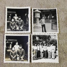 81年老照片一组 4张