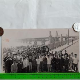 南京长江大桥题材老照片