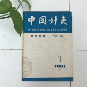 中国针灸创刊号