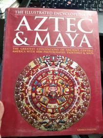 AZTEC & MAYA (阿兹特克和玛雅插图百科全书)