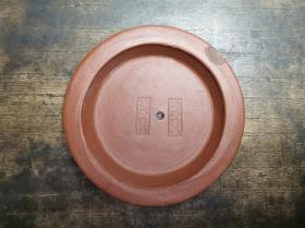 解放初期制作淄博陶瓷双印章款紫砂提梁壶配件壶盖