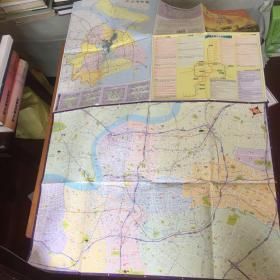 上海市道路图 2007年版 外环城区道路图