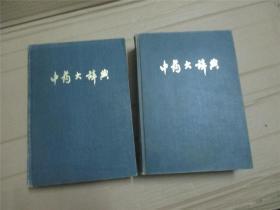 中药大辞典(上下册)大16开精装 有毛语录