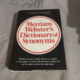 Merriam Websters Dictionary of Synonyms