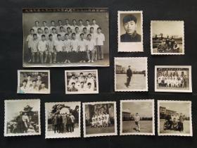 1964年上海交通大学广东兴宁同学合影老照片12张一组合售