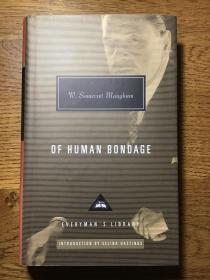 Of human bondage 人性的枷锁 W.Someret Maugham 威廉·萨默塞特·毛姆 Everyman's Library 人人文库 全网最低价包邮