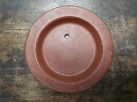 民国至解放初手工艺制作紫砂提梁壶配件大号壶盖