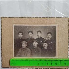 50年代南京时代照相馆人物老照片