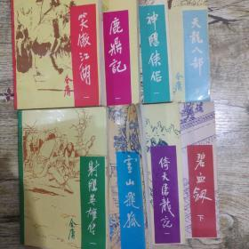 鹿鼎记+笑傲江湖+射雕英雄传+倚天屠龙记+神雕侠侣+碧血剑+雪山飞狐+天龙八部