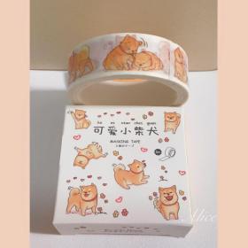 胶带,可爱小柴犬,文具用品