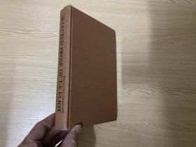 (私藏)Selected Prose of T.S.Eliot   《艾略特文选》,收 传统与个人才能,玄学派诗人 等文章31篇,布面精装