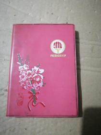 塑料日记本(友谊)(有插图带发票)