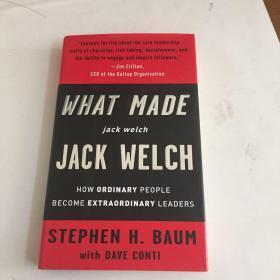 What Made jack welch JACK WELCH[是什么造就杰克·韦尔奇] 精装