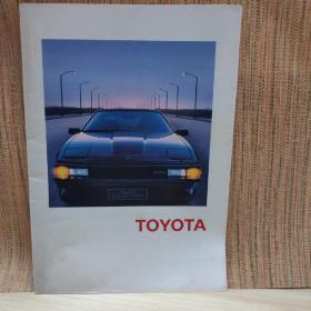 1984年 丰田汽车TOYOTA 综合目录 赛利卡/花冠/陆巡/ 海狮/皇冠 画册 样本 目录 广告宣传册