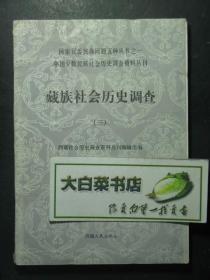 国家民委民族问题五种丛书之一 中国少数民族社会历史调查资料丛刊 藏族社会历史调查 三(46733)