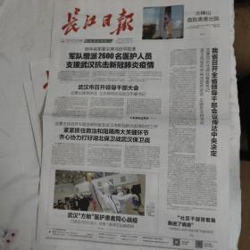 长江日报2020年报纸