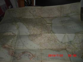 外国地图一幅