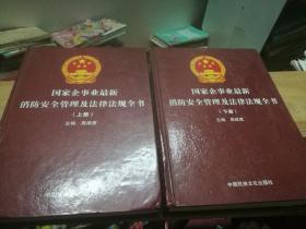 国家企事业最新消防安全管理及法律法规全书上下2册                **
