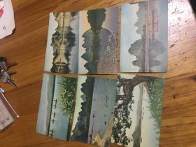 50--60年代,老,明信片 6,张合售